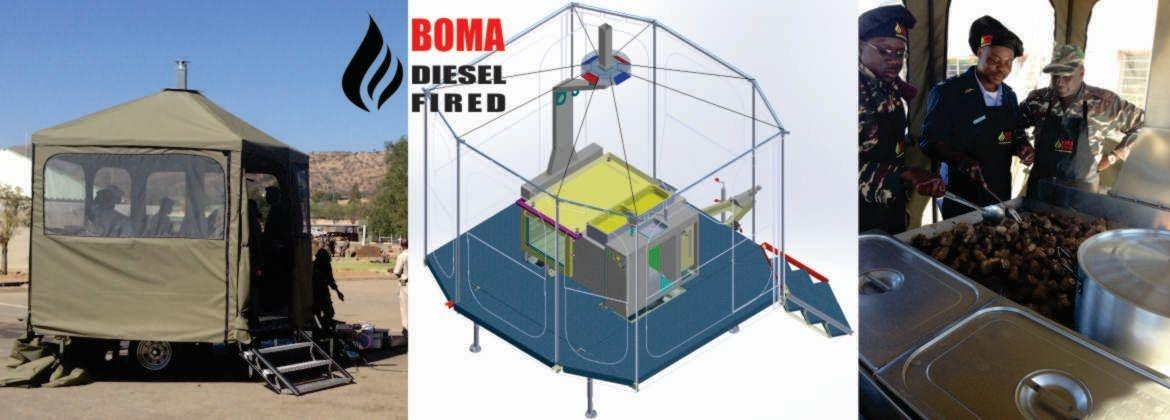 BOMA Diesel Fired Kitchens