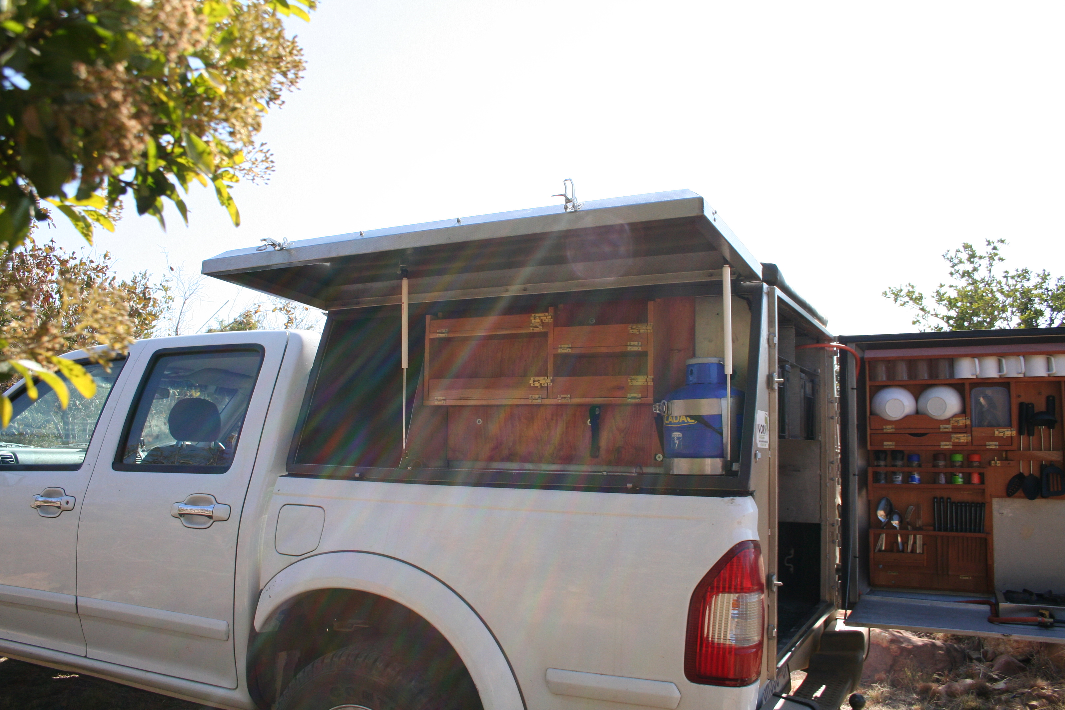 Click to open image! Click to open image! & Stainless Steel Bakkie Canopies - Desert Wolf